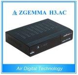 Zgemma H3. Afinador duplo do ósmio E2 DVB-S2+ATSC do linux do núcleo do receptor satélite da C.A. para Cananda/América/México