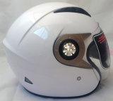 2017 아BS 물자를 가진 새로운 열려있는 마스크 기관자전차 헬멧