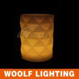 Colorear el crisol de flor ligero cambiable del LED al aire libre