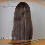 Sheitelの極度の長く優雅な毛のかつらのタイプ最もよい品質の人間の毛髪のユダヤ人のユダヤのかつら