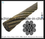 8X19 Iwrc Bright Wire Rope Eips (Rotation / spin Resistant)