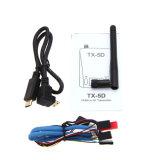 Émetteur de Tx-5D 5.8g 600MW 32CH HDMI Cvbs poids du commerce 7~24V pour l'appareil-photo de Camon DSLR