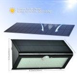 태양 운동 측정기 빛, 옥외 안전 태양 빛 800lm 태양 강화된 빛, 무선 안전 빛 벽 빛 밤 빛 4 지적인 최빈값