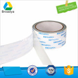 Fita adesiva tomada o partido dobro impermeável do tecido para placas de identificação (portador do tecido revestido com o solvente baseado)