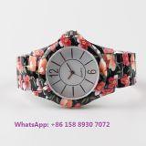 Relógio cerâmico de grande quartzo popular com cinta cerâmica Fs582