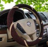 Hölzerne Raupe-Auto-Lenkrad-Deckel-Luxuxhülse mit Muster