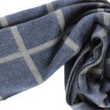 Lenço de moda em lã de algodão misturado