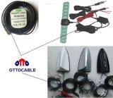 75 ohms câble coaxial 2.5c-2V pour antenne de voiture