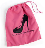 Saco da sapata do saco de Drawstring da sapata da embalagem da sapata do saco de poeira do OEM
