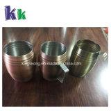 tazza del vino del metallo 50ml, vetro di colpo dell'acciaio inossidabile con l'amo, maniglia oppure no