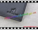 RFID que obstrui a carteira com couro rachado genuíno para homens