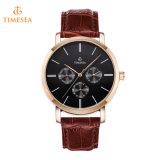 ビジネスカジュアルの腕時計の人の屋外の防水水晶腕時計72377