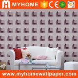2017 nuevo impermeabilizar el papel pintado del 1.06m Corea 3D para la sala de estar
