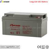 batterie de gel de 12V 65ah pour la mémoire de pouvoir de maison de système solaire