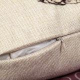 Almohadilla de lino del amortiguador del tiro de la venta de los pares del algodón caliente de la boda