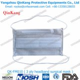 Wegwerfpapiergesichtsmaske mit elastischen Ohr-Schleifen oder elastischen Kopf-Schleifen