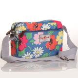 (99032-4) 방수 PVC 화포 목가적인 꽃 끈달린 가방 핸드백