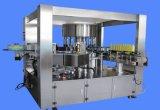 Tipo rotatorio automático máquina de etiquetado caliente del pegamento del derretimiento