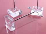 estante de acrílico del sostenedor de los pendientes del metal 3PCS/Set