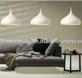 現代白いアルミニウム喫茶店の装飾的なペンダント灯
