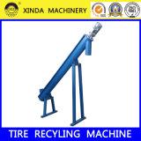 Reciclaje Xinda Ls-36 Transportador de tornillo de goma en polvo Transportadores de Llantas de Desecho