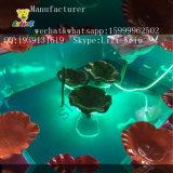 Dell'interno o esterno lo stagno di pesci del gioco di pesca dello stagno di loto per i piccoli capretti