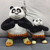 Meilleur Made Kung Fu Animals Soft Panda Peluches Peluches
