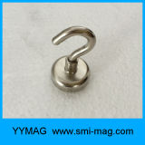 Aimant magnétique permanent de néodyme de cuvette de crochets de NdFeB