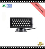 36PCS 1W LEDs RGB City Building LED Wall Wash Light IP67 impermeável e 5 canais DMX
