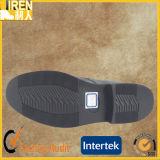 黒い本革の工場価格メンズ足首のオフィスの靴