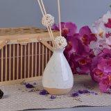 Bottiglia di ceramica del diffusore della canna della ricarica dell'olio dell'aroma vuoto per fragranza domestica