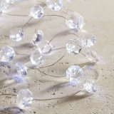Verdrahtetes feenhaftes Licht der Diamant-Form-LED Startwert für Zufallsgenerator
