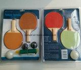 Миниый портативный Tabletop комплект игры настольного тенниса (пингпонга)