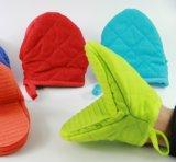 Перчатки выпечки безопасности резины 5 цветов & домочадца хлопка