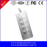 Het Mini Functionele Toetsenbord van de Desktop met USB Schakelaar, Beschikbare de Lay-out van de Douane