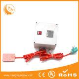 Calefator da bateria do silicone 72V, UL do Ce da almofada de aquecimento da borracha de silicone da produção