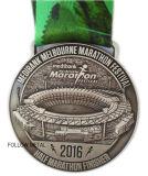 半分のマラソンの祝祭のための賞メダル、フィニッシャー、3Dロゴ