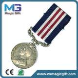 高いQuqalityによってカスタマイズされる韓国の防衛サービス金属メダル
