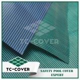 Tissu de maille de la couleur verte pp avec la bonne évacuation de l'eau