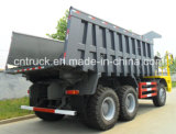 Sinotruk HOWO 상표 6X4 광업 쓰레기꾼 트럭과 덤프 트럭 With70 톤