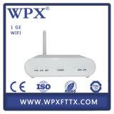Antenne de l'équipement de télécommunication 1ge +WiFi Gpon ONU pour FTTH