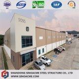 Vertente estrutural de aço Certificated Ce do armazenamento frio da qualidade industrial