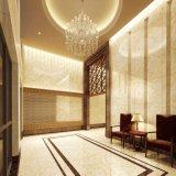 Sala de estar de cena de lujo de gama alta de Romanio del azulejo del mármol del amarillo del jade de Bruma