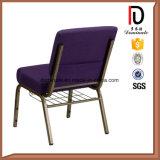 Оптовый дешевый Stackable стул церков металла