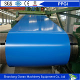 Le bobine galvanizzate preverniciate/colore delle bobine/PPGI dell'acciaio hanno ricoperto le bobine d'acciaio per la fabbricazione del materiale del tetto