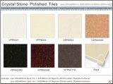 Azulejo de suelo Polished de la porcelana de la piedra cristalina posterior del color (VPP6006D)