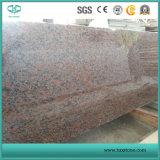 Kleine Plakken van het Graniet van de esdoorn de Rode voor Countertop/van de Ijdelheid Bovenkanten/Muur/Vloer/Stappen