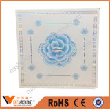 Панель стены красивейшего потолка PVC цветка славная