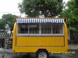 Acoplado móvil del carro del helado