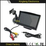 Входной сигнал видеоего монитора индикации 2AV LCD автомобиля дюйма стойки один 4.3